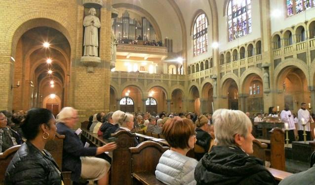 Het B.G.K. mocht zingen in een bomvolle kathedraal