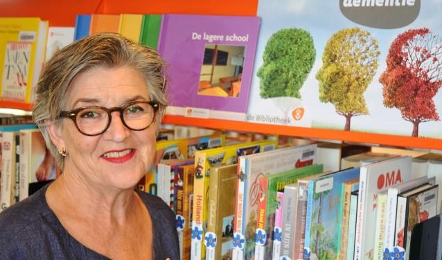 Henriet was jaren het vertrouwde gezicht van de bibliotheek, foto: Hammie Productions