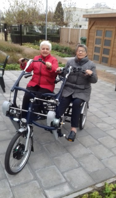 Duo fiets Os Thoes