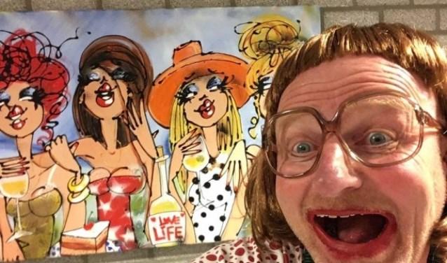 Berry Knapen vertelt als Toos van Bokhoven over de midlife-crisis van haar man