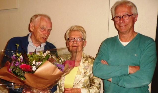 Wim Martens werd in de bloemetjes gezet