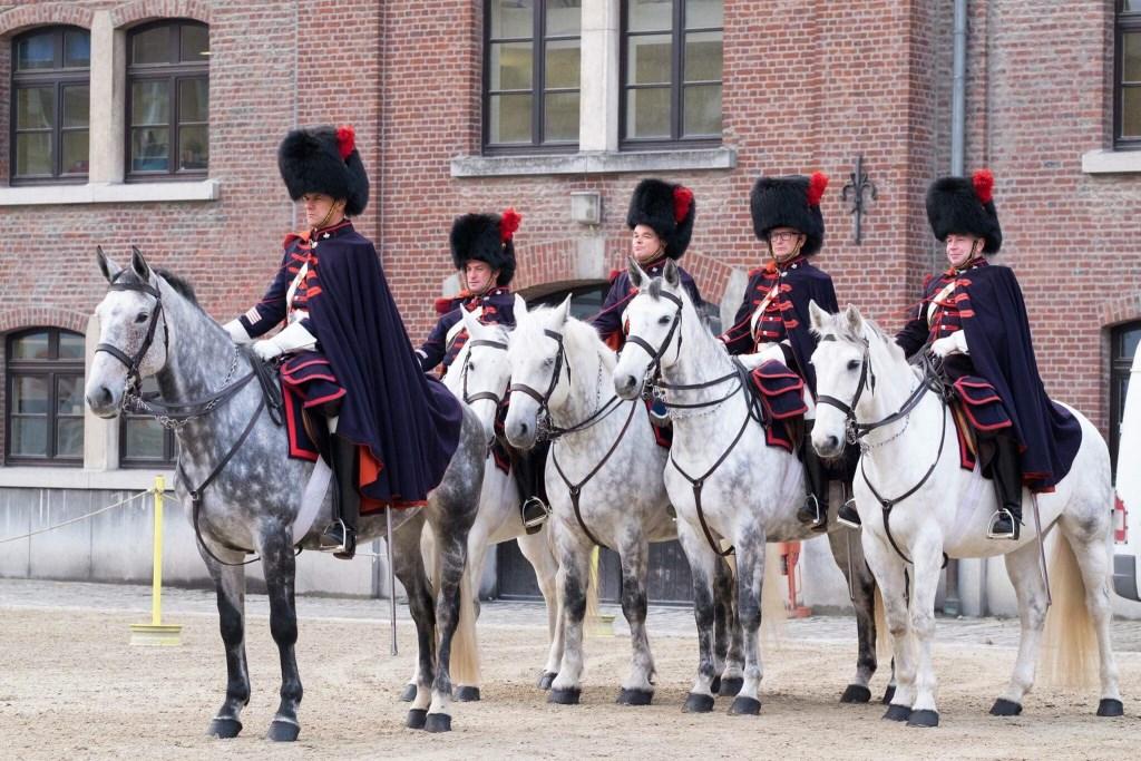 Trompetterkorps van het Koninklijke Escorte te Paard  © grenskoerier