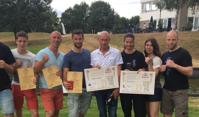 papendal team 2018 met certificaten