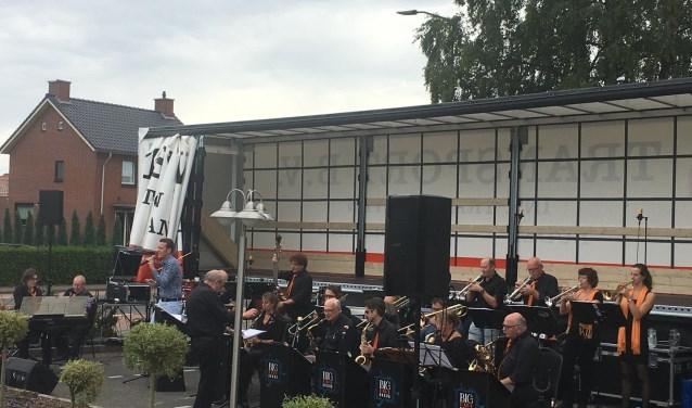 optreden Experience en Big band bij de Wielerbaan