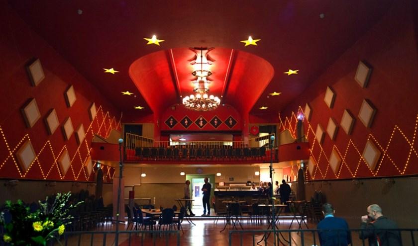 Het theater in de Cantine in Budel-Dorplein.
