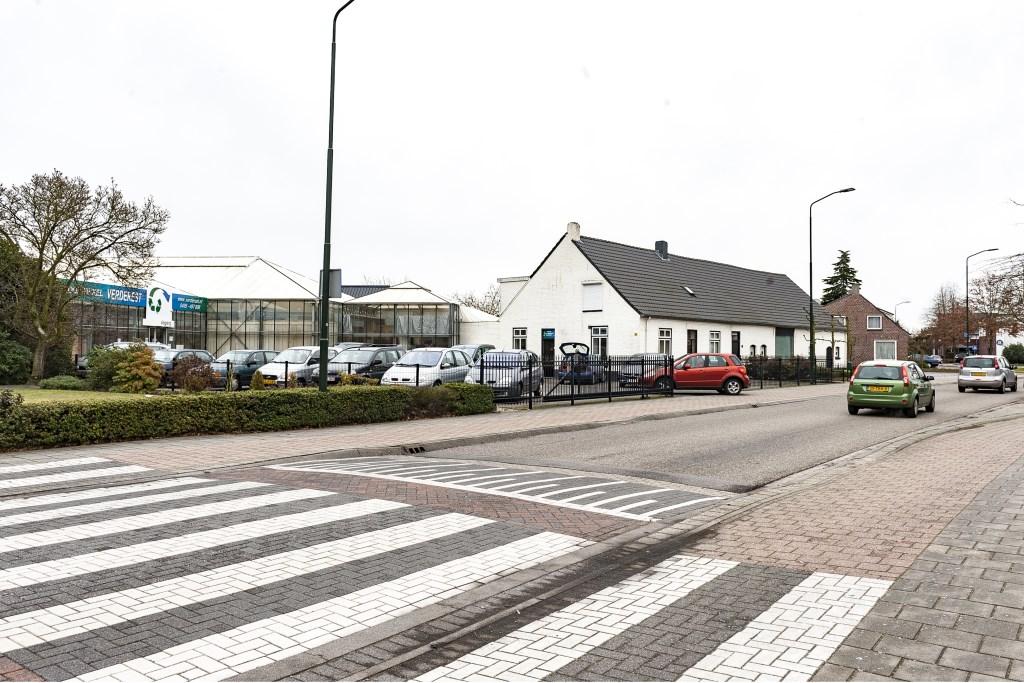 Aan Nieuwstraat 95 is nu Verderest gevestigd, foto: Jos Meusen. Foto: Jos Meusen © grenskoerier