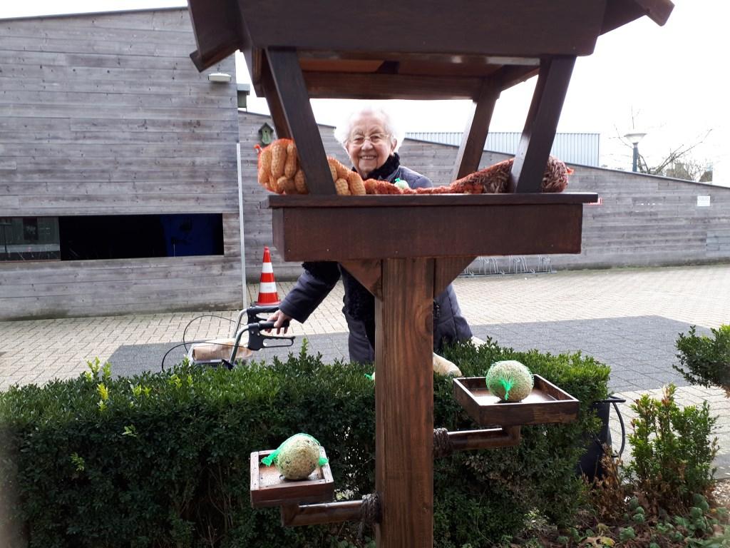 An Hoeben kan weer genieten van de vogeltjes   © grenskoerier