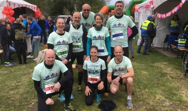 Deelnemers aan de Balki Run, foto: Frans van der Zalm