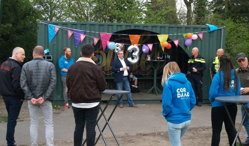 Opening van JOP door Wethouder Lemmen, foto: Laura Raats
