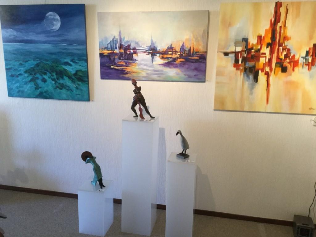 20 kunstenaars, allemaal woonachtig in Cranendonck, nemen deel aan de kunstroute Foto:  © grenskoerier