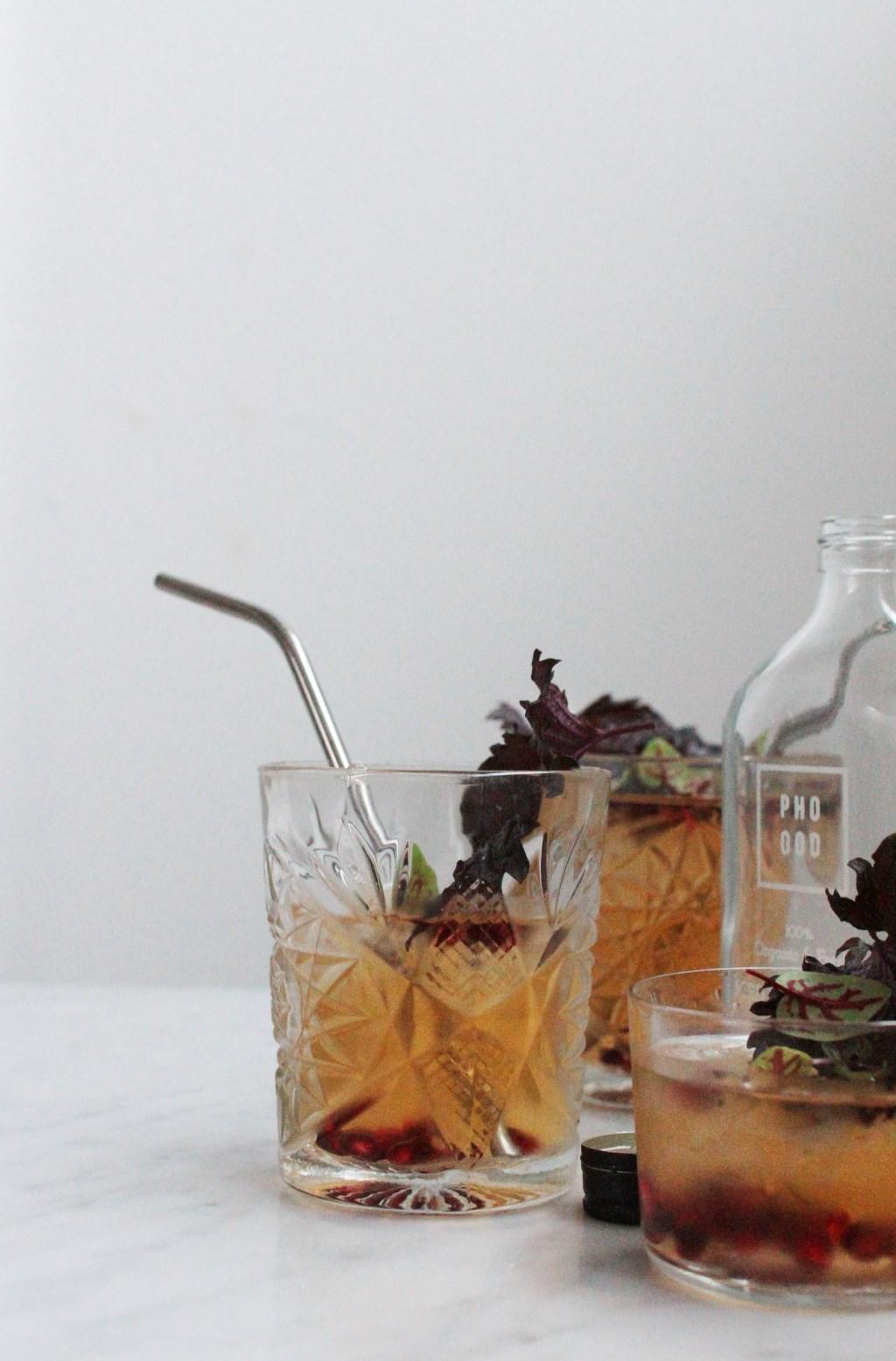 'The Aphrodesiac' - Herbal Ice Tea Foto: Kyra de Vreeze © grenskoerier