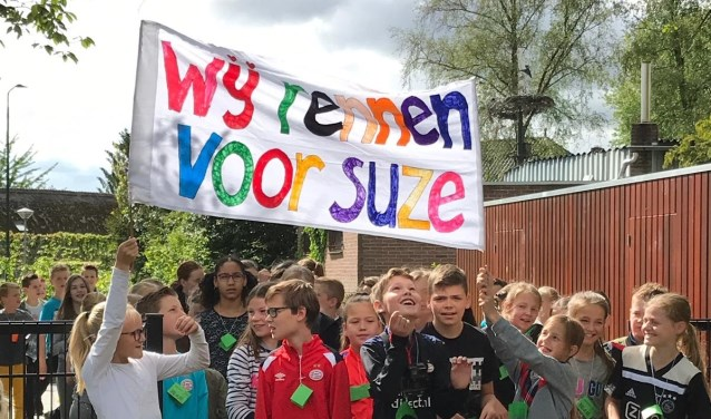 Een groot gevoel van saamhorigheid op De Boogurt, tijdens de sponsorloop voor KIKA.
