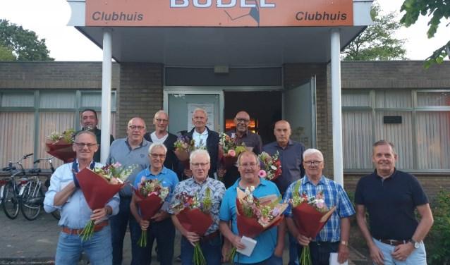 Vrijwilligers sv Budel van het jaar