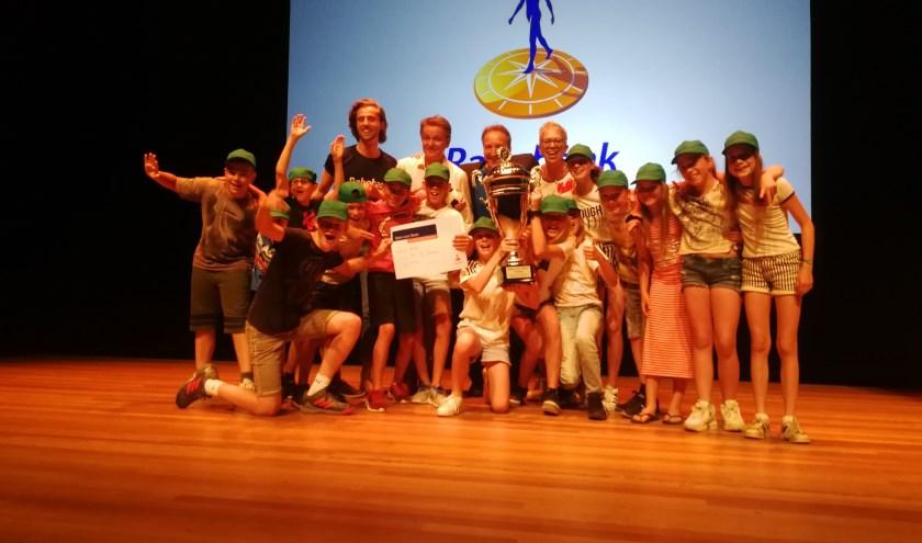Groep 7/8 van basisschool Sint Andreas wint Basis voor Beter