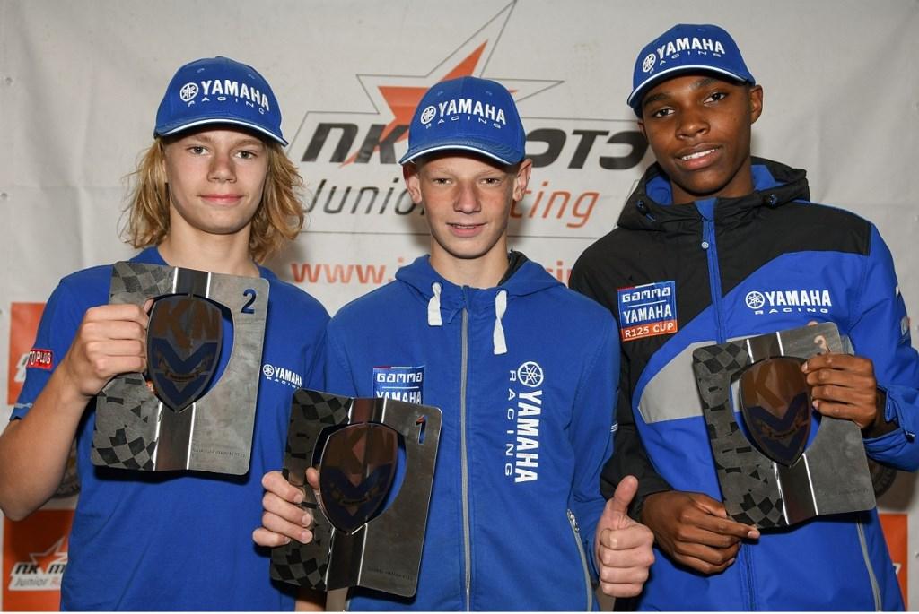 Melvin van der Voort (li) behaalde een tweede plaats. Mariska@motografie.nl © BDU Media