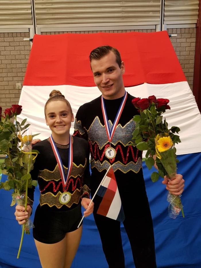 Stevie Waalewijn en Raymond Schonewille
