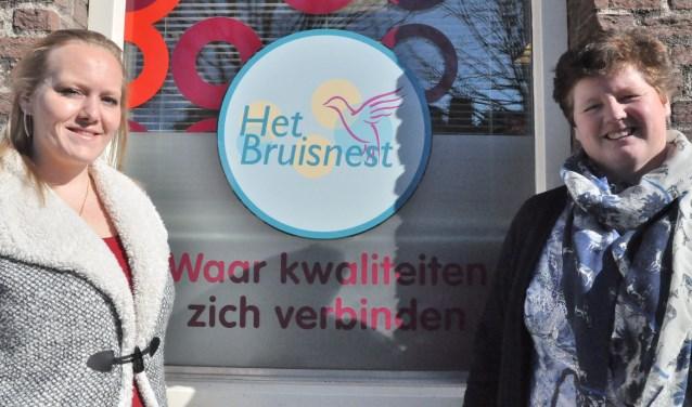 Yvonne en Hannah van Kwintes hopen op een Appeltje van Oranje.(foto: pr)