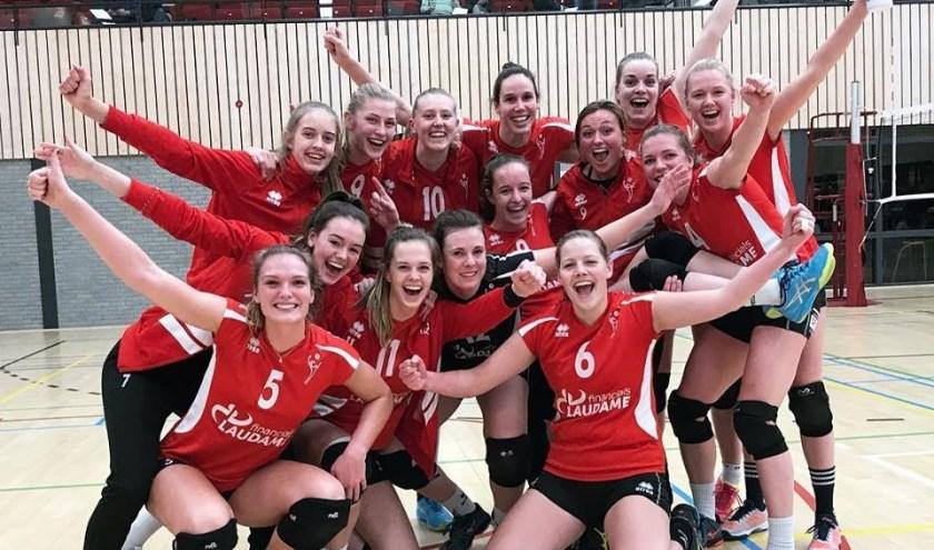 Het damesteam van VCN. (foto: pr)