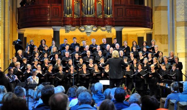 Het koor Adonai heeft leden uit de hele regio.