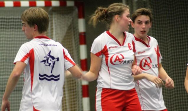 Lieke Verstoep speelde tegen Reeuwijk wel een verdienstelijke wedstrijd.