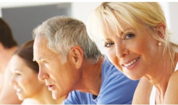 Na de test weten de 55-plussers hoe fit ze zijn ten opzichte van hun leeftijdsgenoten.