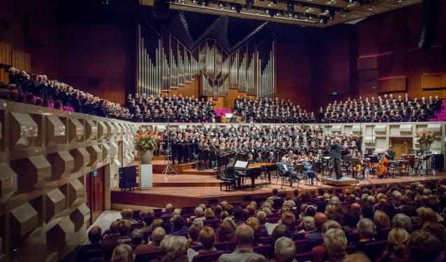 Passie- paasconcert in De Doelen in het verschiet. (foto:pr)