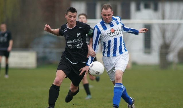 Mark van der Laan speelde met twee doelpunten een hoofdrol tegen WDS. (foto: Stef Hoogendijk)