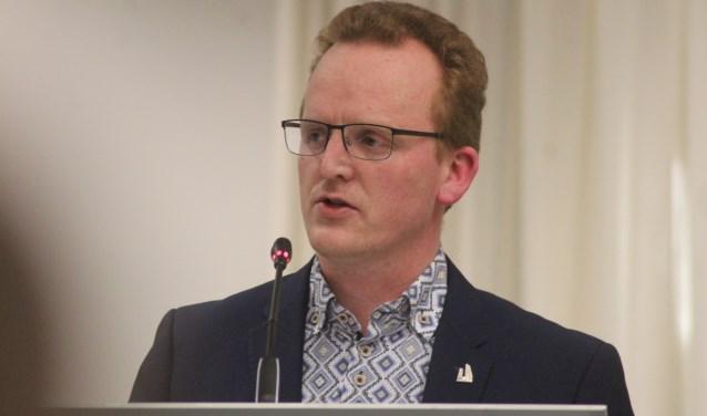 PCW-raadslid Erik Segers. (tekst en foto: Erik van Leeuwen)