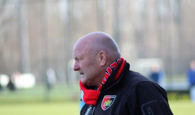 """Trainer René van Beek: """"Achteraf had ik wat moeten zeggen."""" (foto en tekst: Erik van Leeuwen)"""