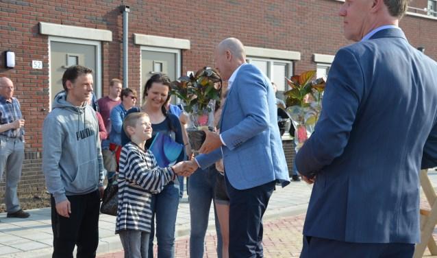 Een gezin uit Capelle aan den IJssel - mét economische binding aan Zevenhuizen - behoort tot de gelukkigen.