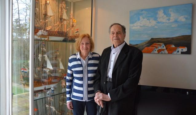 Carel en Lenie Hoos vierden onlangs hun diamanten huwelijk. (foto en tekst: Ruud Groot)