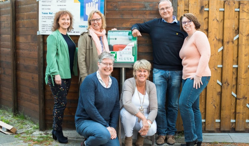 Gerrie Goedee, Marja Quist, Yvonne Mud, Ria Bargeman, Peter Schut en Wendy Reijm. (foto: Masarazzzi fotografie)