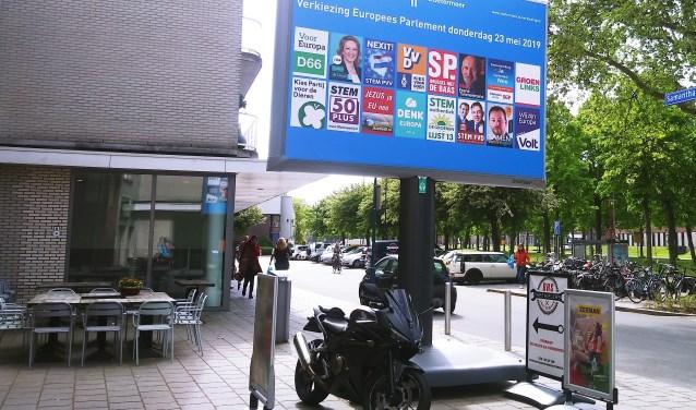 Voorbedrukte verkiezingsborden, zoals bijvoorbeeld in Zoetermeer al worden gebruikt, zouden ook een optie voor Zuidplas kunnen zijn. (foto: Judith Rikken)