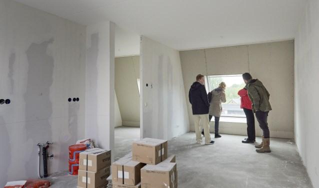 De sociale huurwoningen in Middenwillens. (Foto:pr)