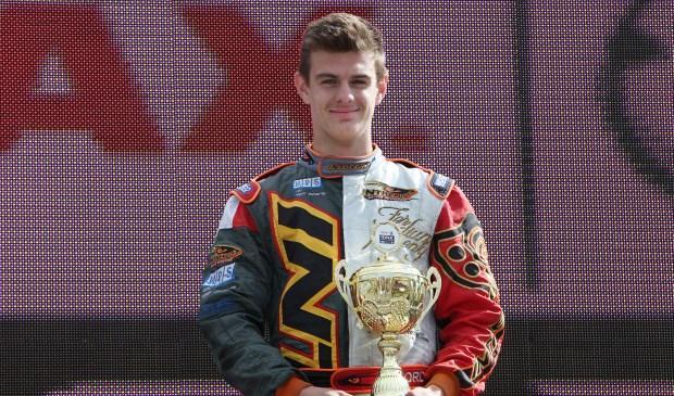 Karter Jordy van der Eijk. (foto: Gijs Kaligis/RaceXpress.nl)