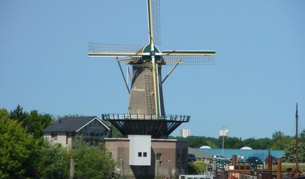 De leefomgeving van de molen, ook een 'echt stukje Nieuwerkerk' wordt in de plannen opgenomen. Rien Maaskant bepleitte dat. (foto: Hans de Kroon)
