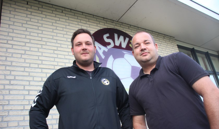 Rick van Wijk en Justin Sterk gaan bouwen aan een toekomstigbestendig ASW. (tekst en foto: Erik van Leeuwen)