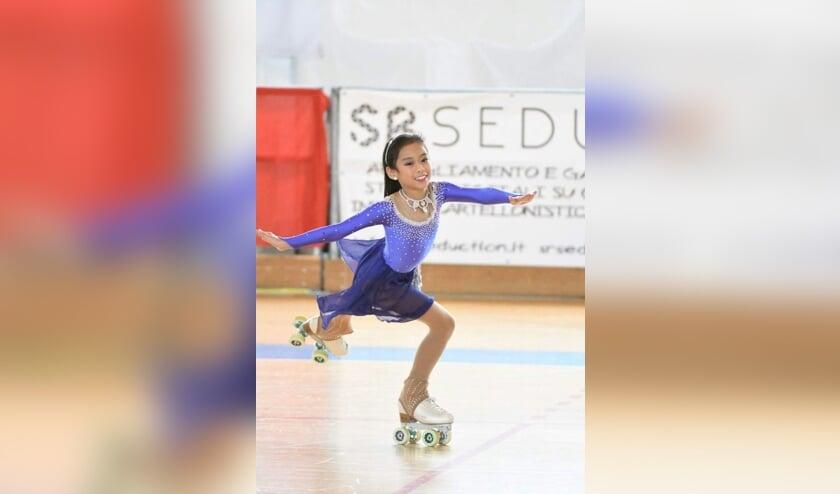 Zoë Teh werd Nederlands kampioen bij de cadetten (foto: Elma Stormbroek).