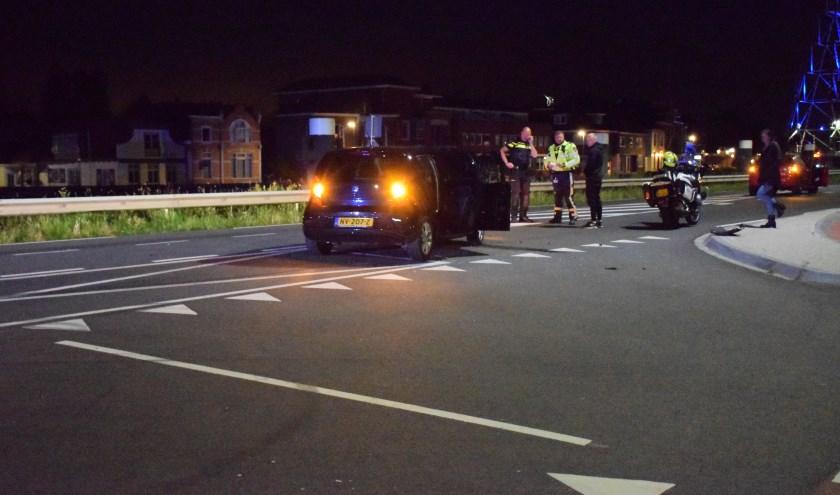 Het ongeval vond plaats op de kruising Henegouwerweg/Van Spijkstraat. (foto:ASMedia)