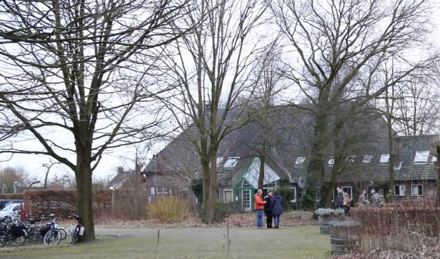 De Van Coothhoeve, gezien op de achterzijde.  | Fotonummer: 8992b1