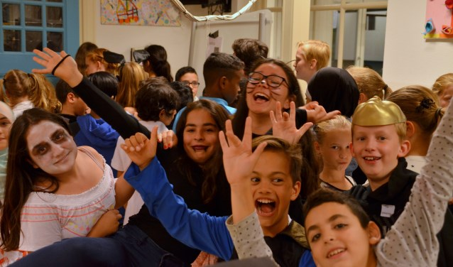 Gruwelijk griezelen was het thema van de Kinderboekenweek van 2017. (Foto: Jan van der Steen)  | Fotonummer: d8e1f9