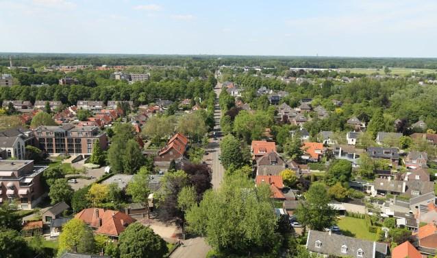 Dat Boxtel een groene gemeente is is pas goed te zien vanaf hoogte, zoals deze foto genomen vanaf de Sint-Petrusbasiliek.  | Fotonummer: cfb8e8