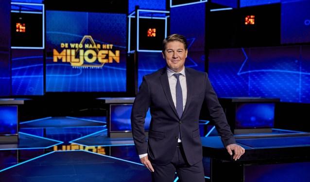 Martijn Krabbé presenteert 'Postcode Loterij De Weg naar het Miljoen'.  | Fotonummer: dc28b2