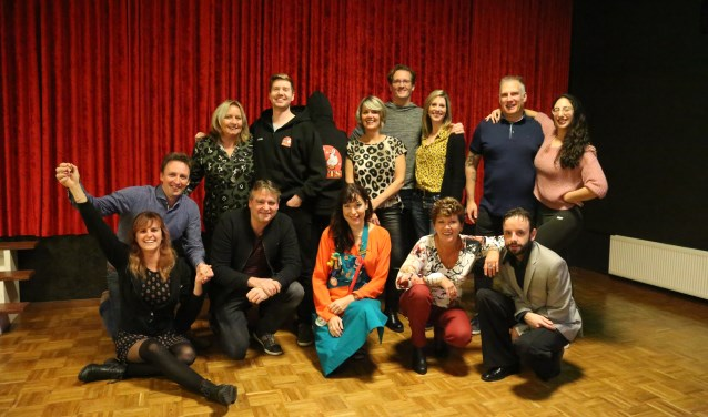 De DWTS-deelnemers, samen met hun danspartners.  | Fotonummer: 1fb5fe