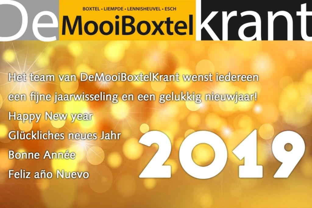 Het Team Van Mooiboxtel Wenst Iedereen