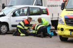 Grote ravage op Kruisbroeksestraat bij ongeluk met 4 voertuigen; een gewonde naar ziekenhuis
