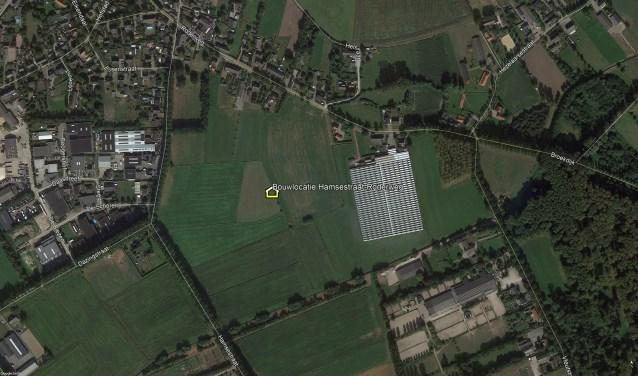 De beoogde bouwlocatie.  | Fotonummer: b4525f
