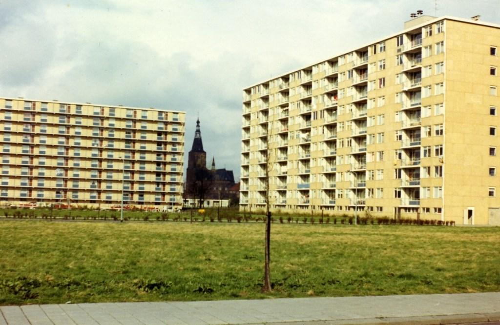 Langzaam maar zeker raakten de torenflats in verval. (Foto: Beeldbank Heemkunde Boxtel, collectie Gemeente Boxtel) Foto: Beeldbank Heemkunde Boxtel, collectie Gemeente Boxtel © MooiBoxtel