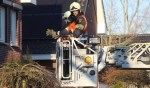 Brandweer veegt nogmaals schoorsteenkanaal na schoorsteenbrand in Liempde