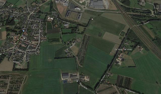 De locatie waar GreenTech Park Brabant gerealiseerd wordt.  | Fotonummer: f72f6e